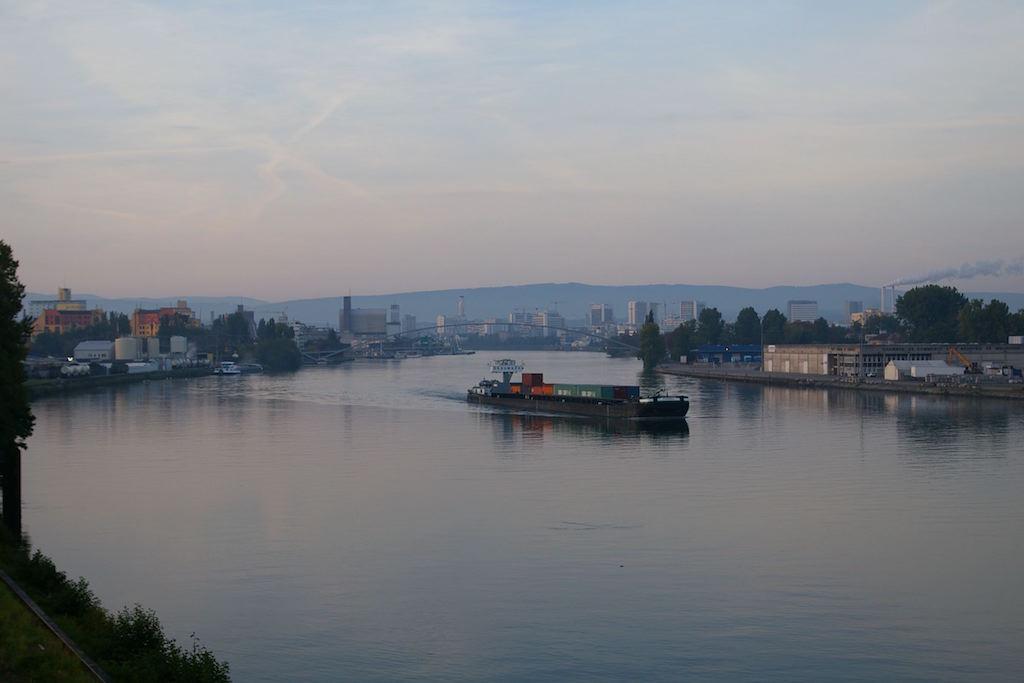 Basel: Die sogenannte 'Chemie Silhouette'
