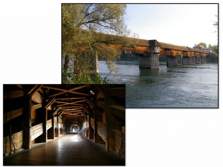 Hölzerne Brücke in Bad Säckingen