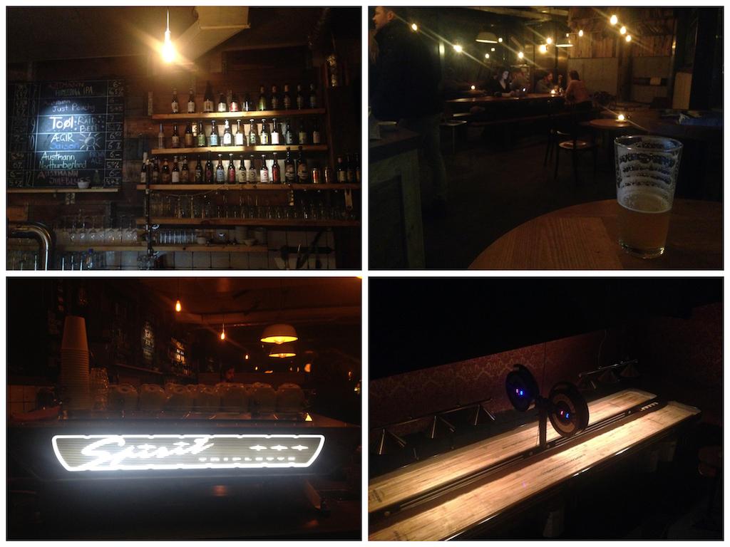 Das Kaschk: Bier, Kaffee und Shuffleboard!