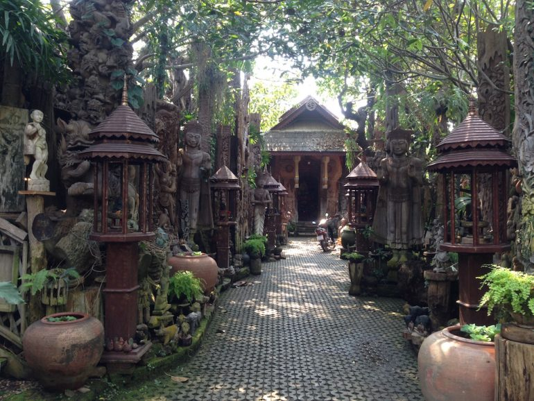 Skulpturengarten in Chiangmai
