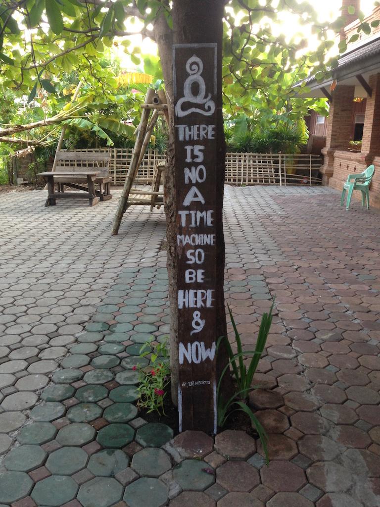 Schild in Chiangmai