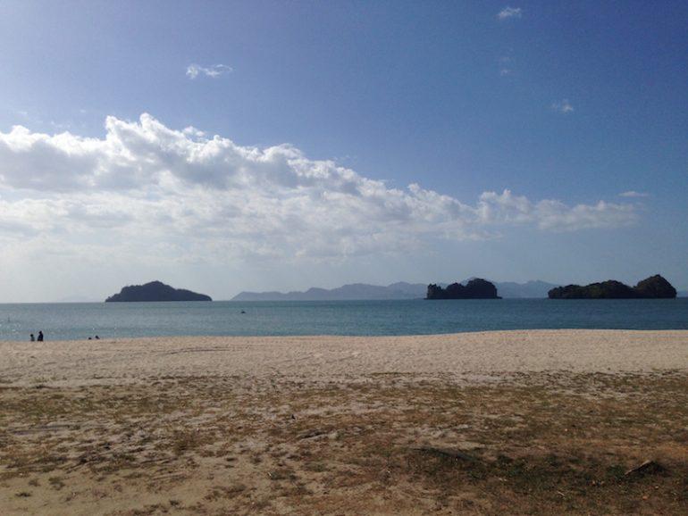Strand bei Tanjung Rhu