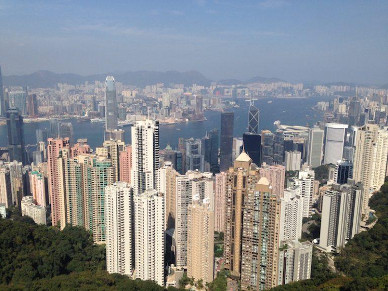 Hong Kong Sehenswürdigkeiten: Blick vom Peak