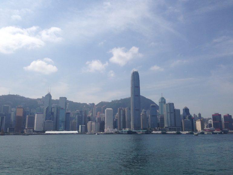 Hong Kong Sehenswürdigkeiten: Blick von der Avenue of Stars