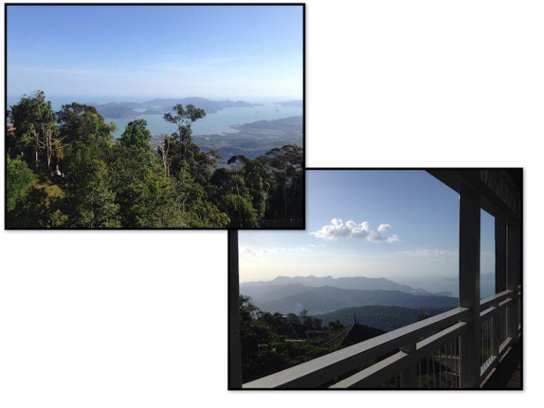 Langkawi Sehenswürdigkeit: Ausblick vom Gunung Raya