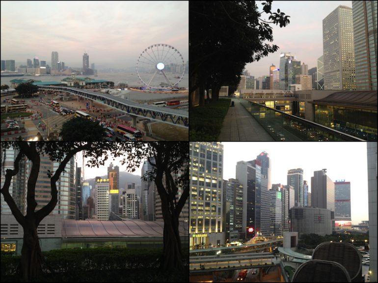 Hong Kong Sehenswürdigkeiten: Das Dach des IFC
