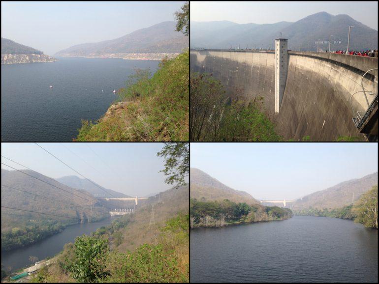 Mietwagen Thailand: Bhumibol Damm