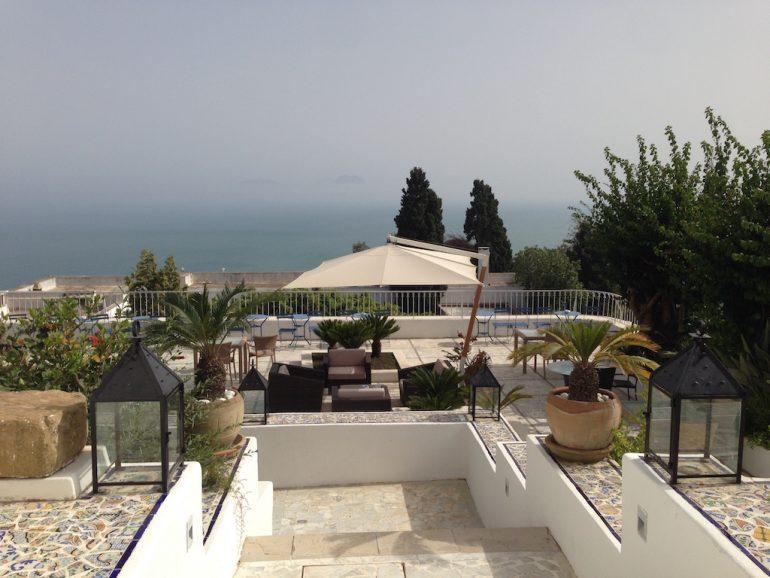 Der Ausblick vom Hotel 5 Etoiles