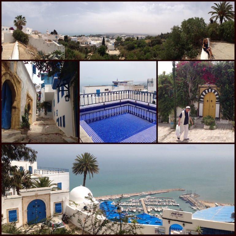 Tunesien: Ausblicke in Sidi Bou Said