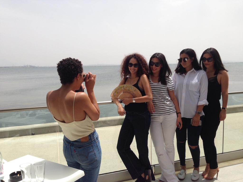 Tunesische Bloggerinnen
