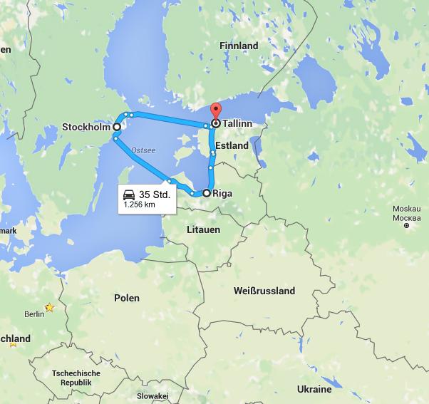 Meine Route