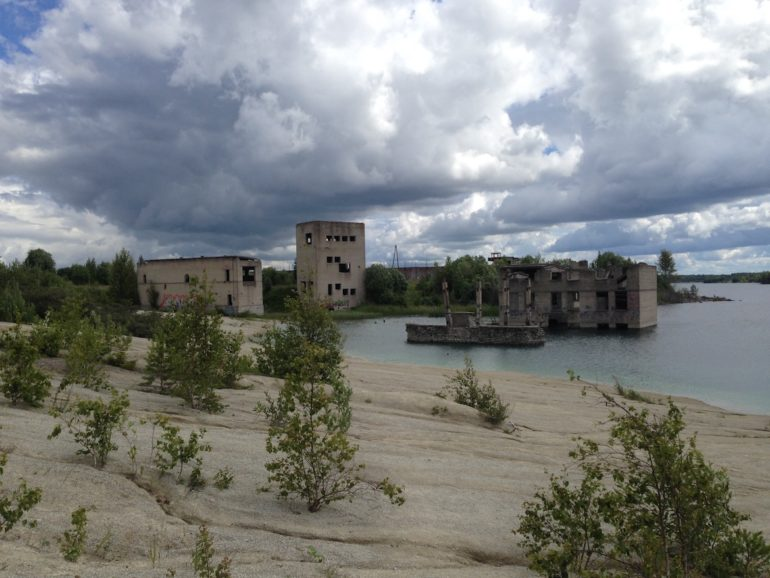 Baltikum: Lake Rummu