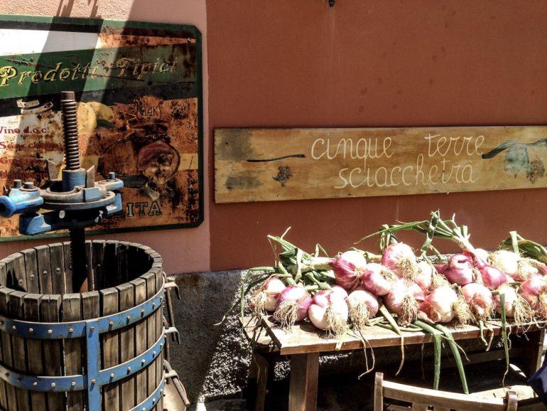 Cinque Terre wandern: Zutaten und Geräte