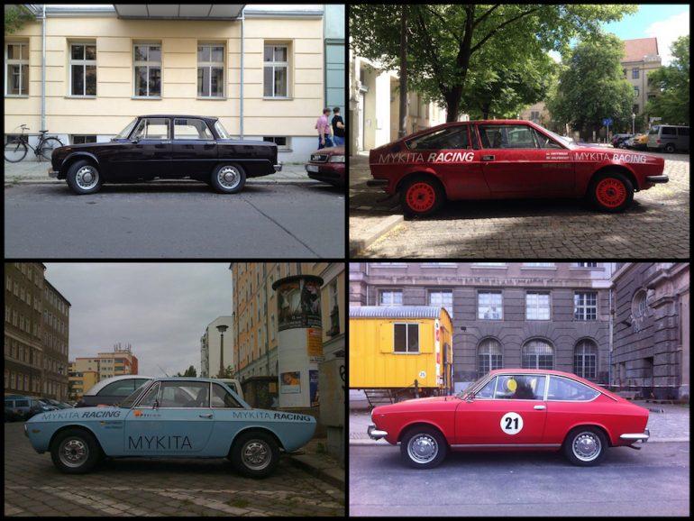 Oldtimer Berlin - Alfa Romeo in verschieden Farben