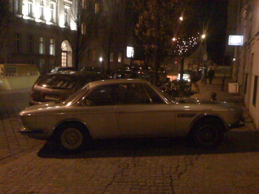 Oldtimer Berlin: BMW E9