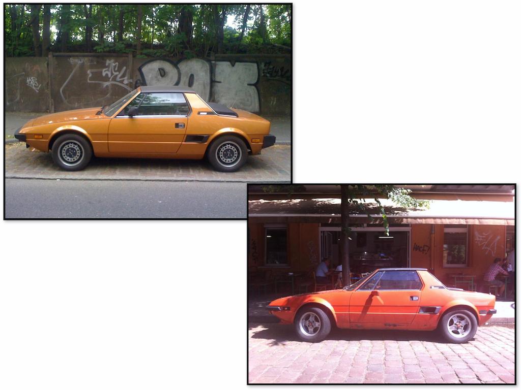 Oldtimer Berlin: Bertone X1/9