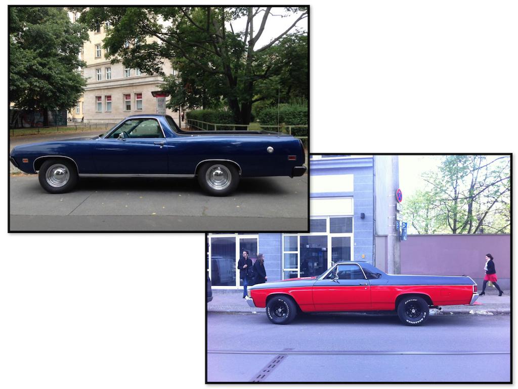 Oldtimer Berlin: Chevrolet El Camino