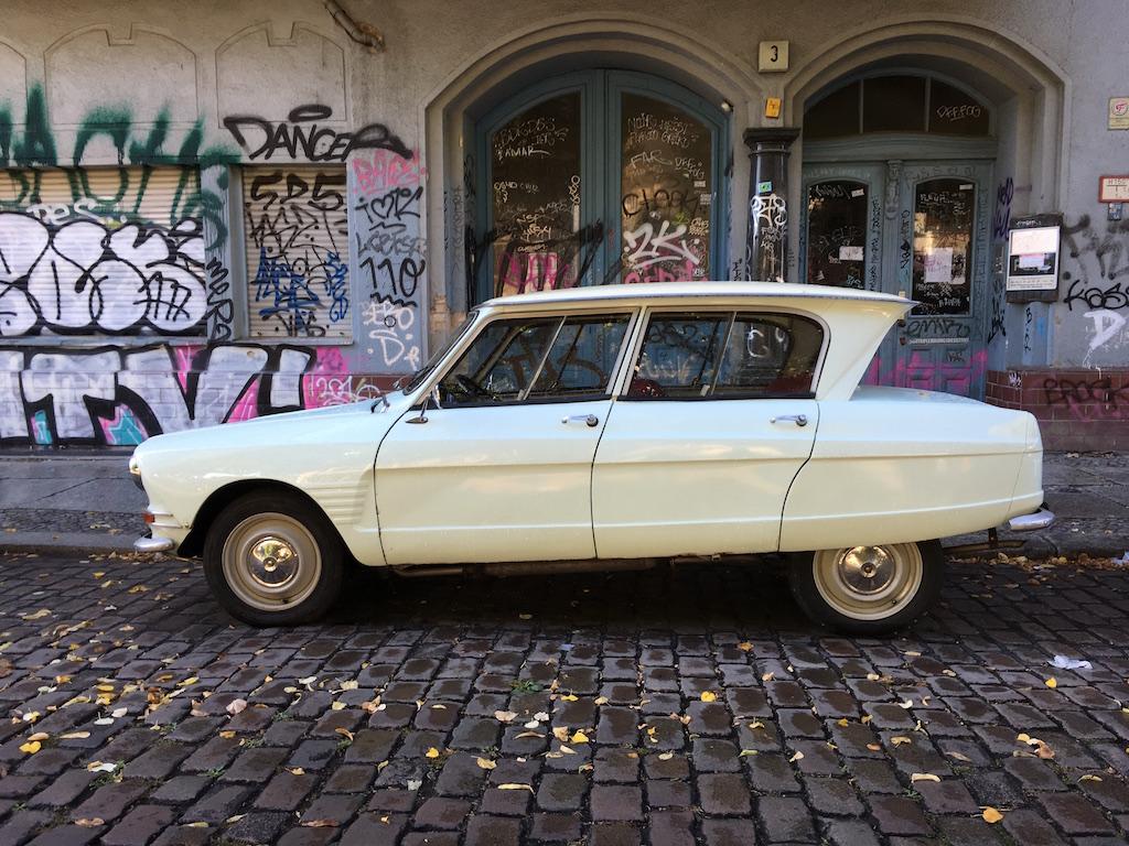 Oldtimer Berlin: Citroën Diane