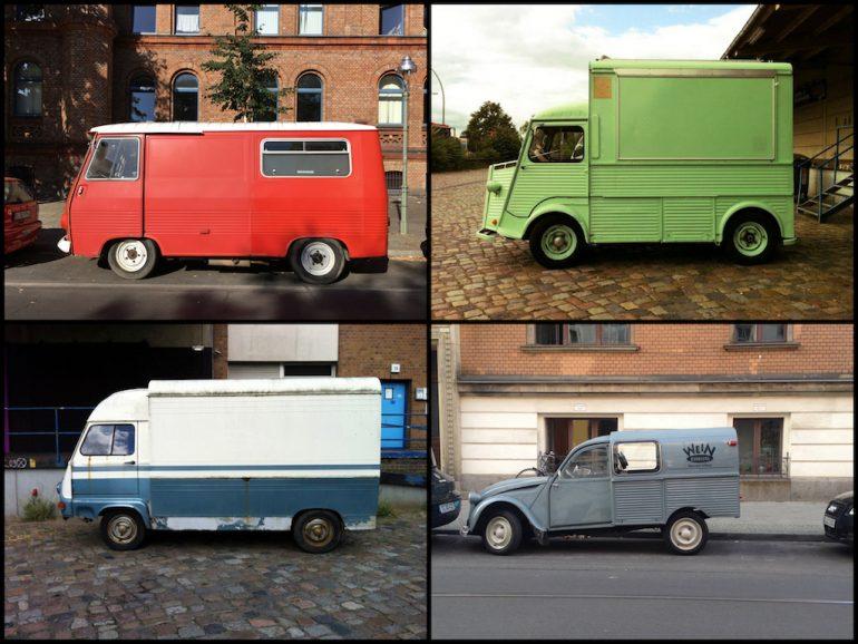 Oldtimer Berlin: Citroën Busse und Transporter