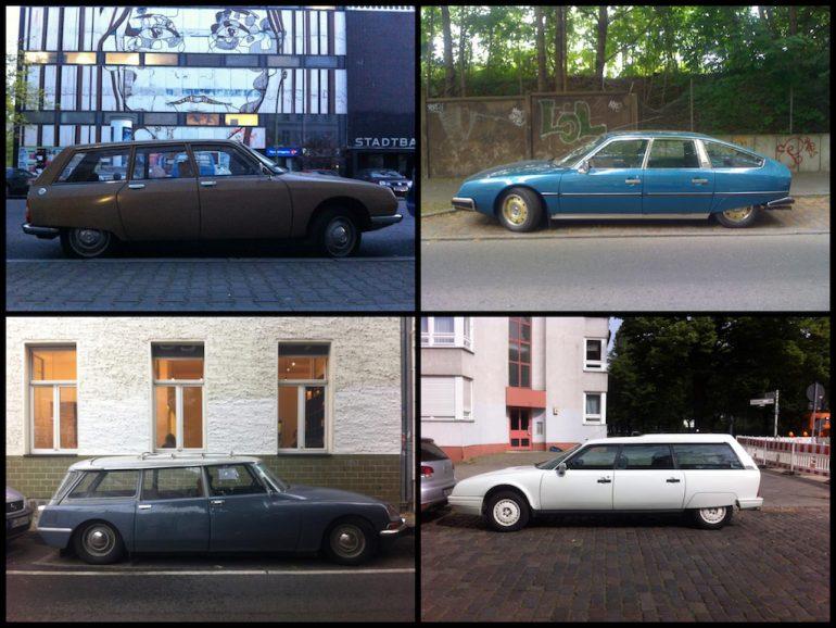 Oldtimer Berlin: Citroën CX in verschiedenen Farben