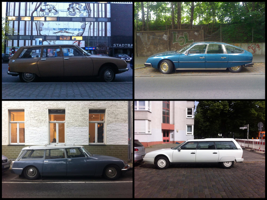 Oldtimer Berlin: Citroën CX