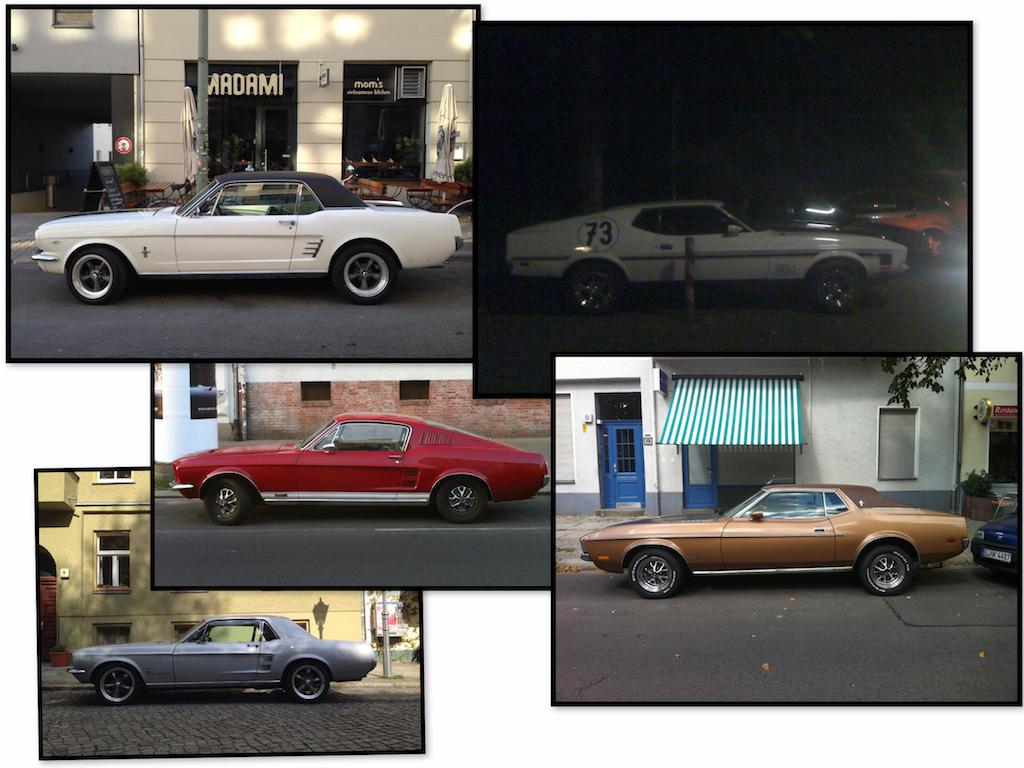 Oldtimer Berlin: Ford Mustang