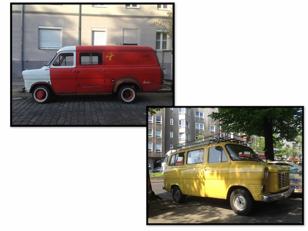 Oldtimer Berlin: Ford Transit