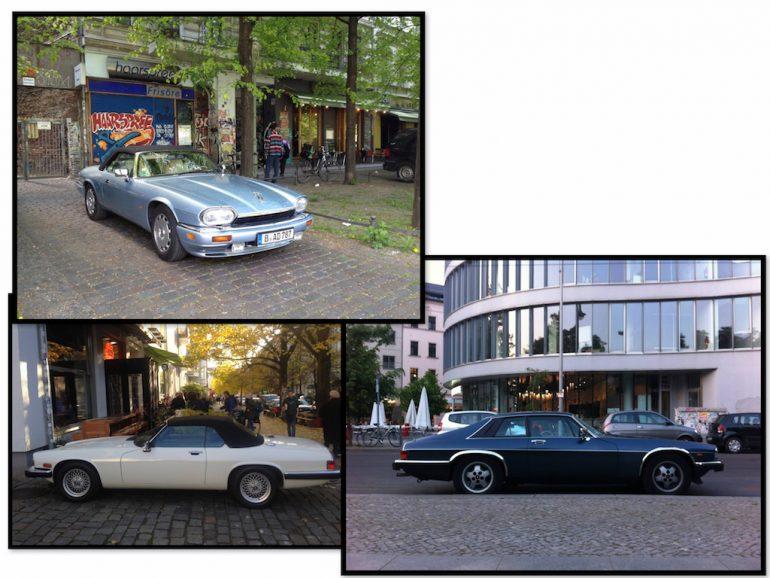 Oldtimer Berlin: Jaguar in unterschiedlichen Farben und Ausführungen