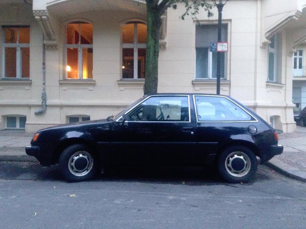 Oldtimer Berlin: Mitsubishi Colt