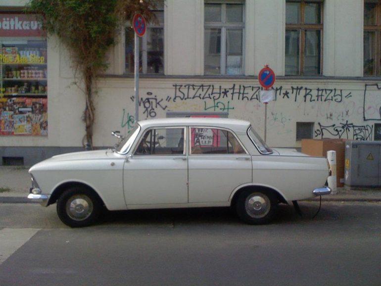 Oldtimer Berlin: Moskwitsch Gen 3