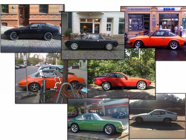 Oldtimer Berlin: Porsche in unterschiedlichen Formen und Farben