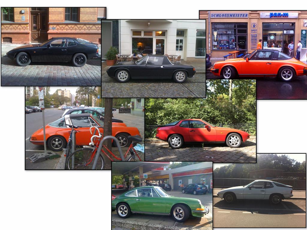 Oldtimer Berlin: Porsche