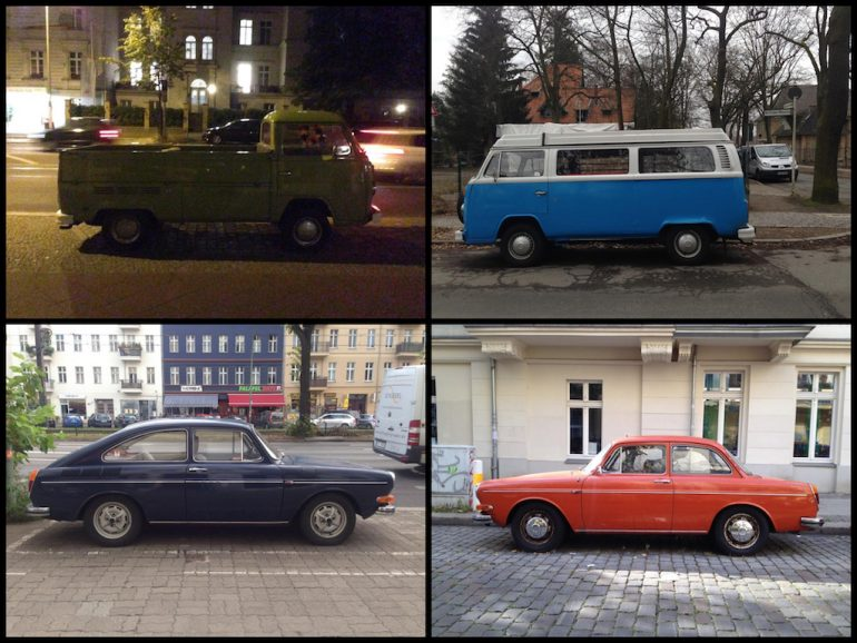 VW Busse und Oldtimer in Berlin