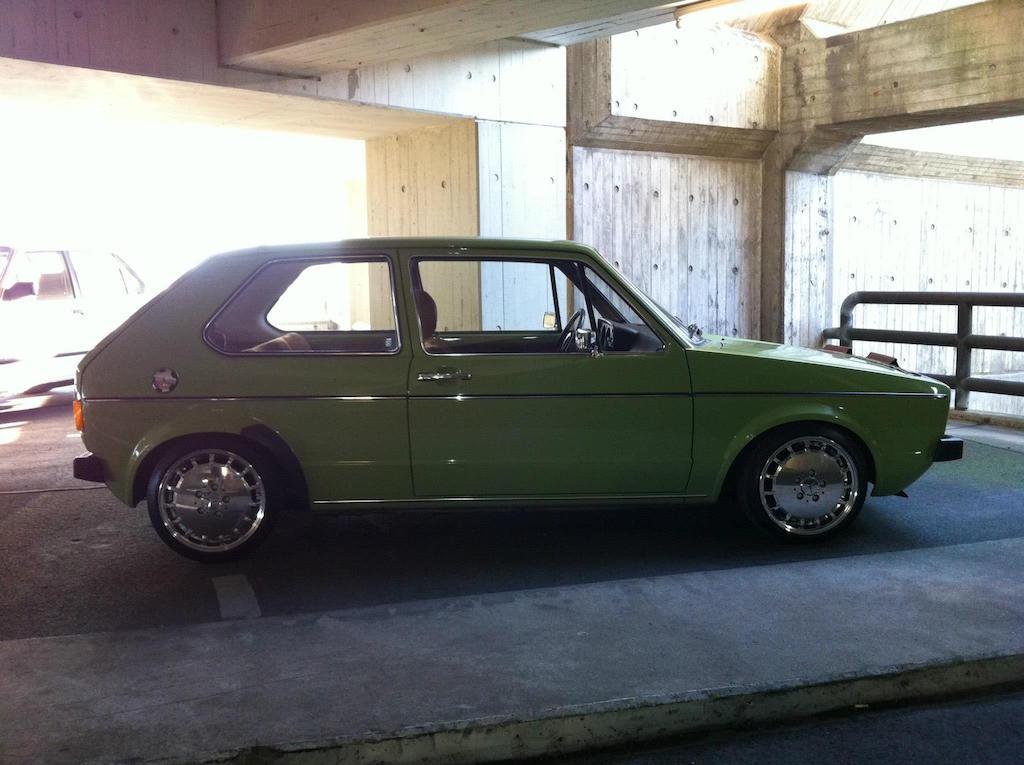 Oldtimer Berlin: VW Golf 1