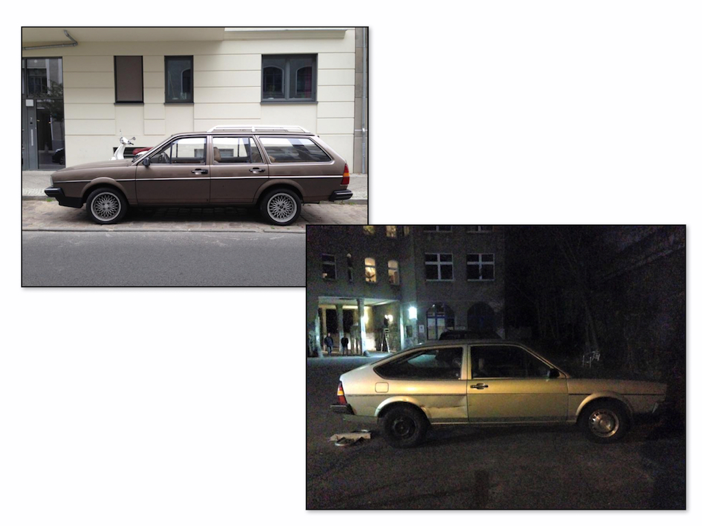 Oldtimer Berlin: VW Passat