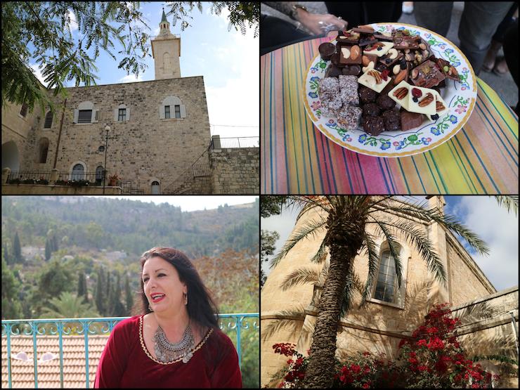 Jerusalem: Menschen, Schokolade und Gebäude in Ein Karem