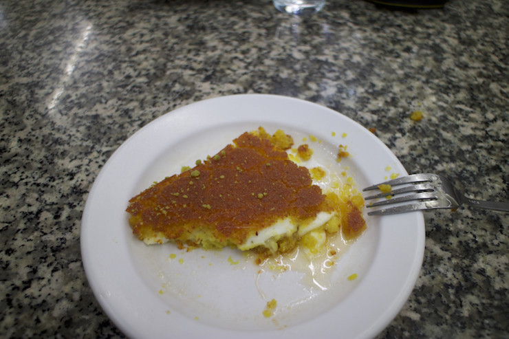 Süßer Käse in Jerusalem