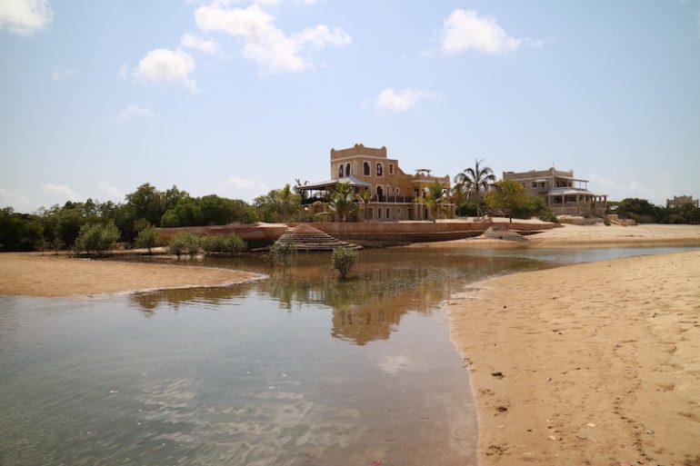 Kenia Strand: Haus an einer Lagune in Manda Beach