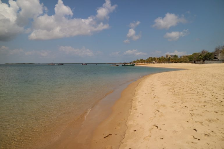 Kenia Strand: Strand und Wasser am Manda Beach