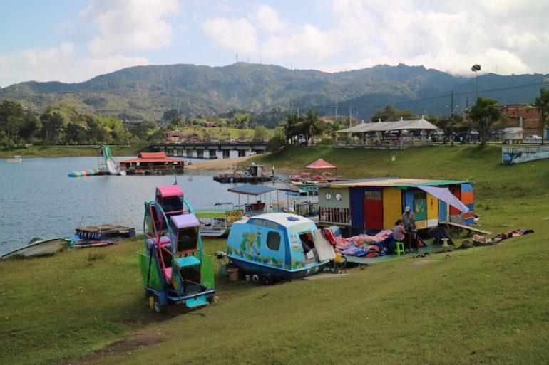 Freizeitpark am Wasser in Guatapé