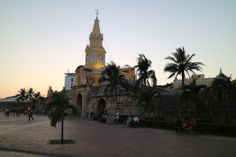 Kolumbien Reisetipps - Cartagena Torre del Reloj