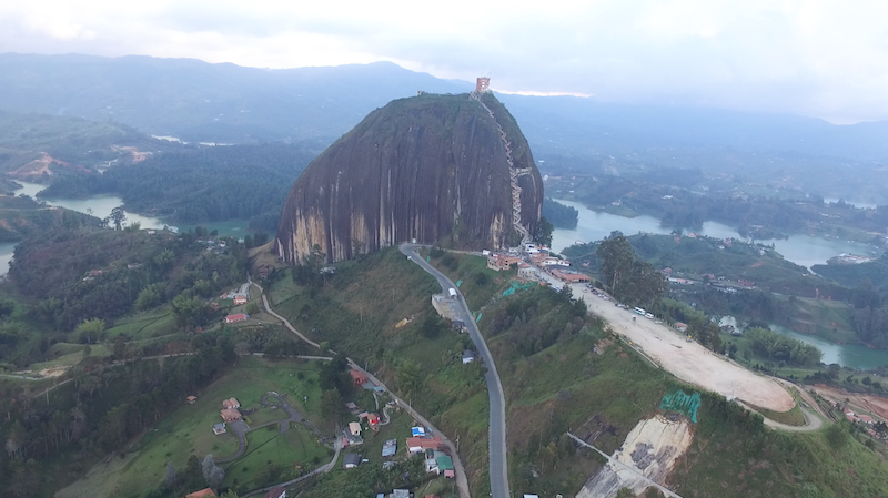 Kolumbien Reisetipps - Guatape Felsen