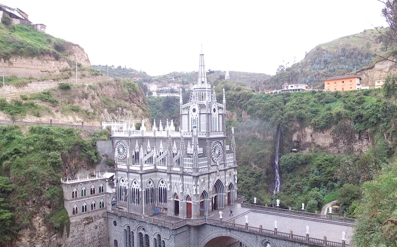 Kolumbien Reisetipps - Las Lajas Kathedrale