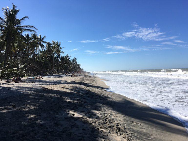 Kolumbien Reisetipps: Strand, Meer und Palmen in Palomino