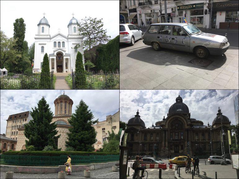 Bukarest Sehenswürdigkeiten: Strassenszenen in Bukarest