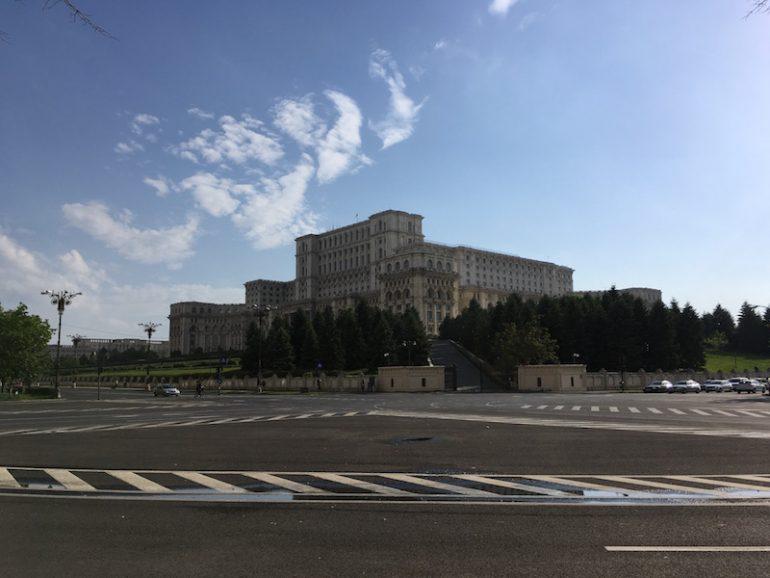 Bukarest Sehenswürdigkeiten: Parlamentspalast