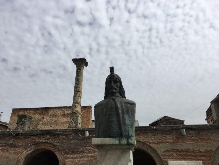 Bukarest Statue Vlad der Pfähler