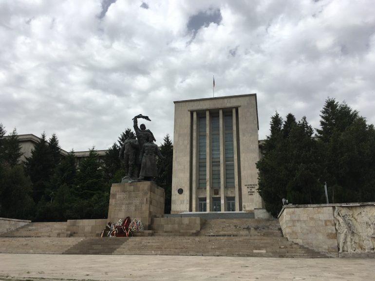 Bukarest kommunistische Architektur