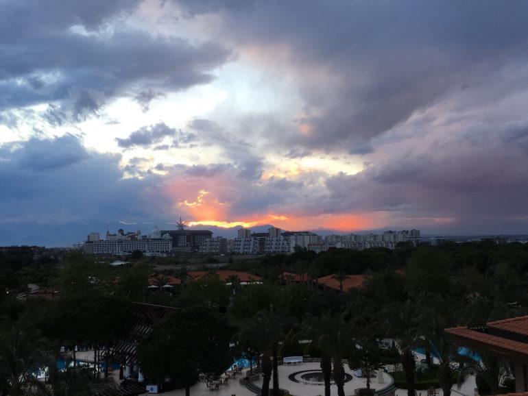 Antalya Sonnenuntergang