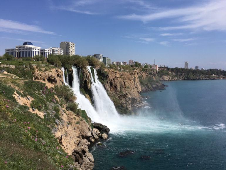 Düden Wasserfall bei Antalya